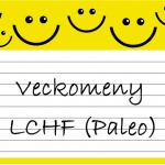 Veckomeny LCHF (och Paleo)