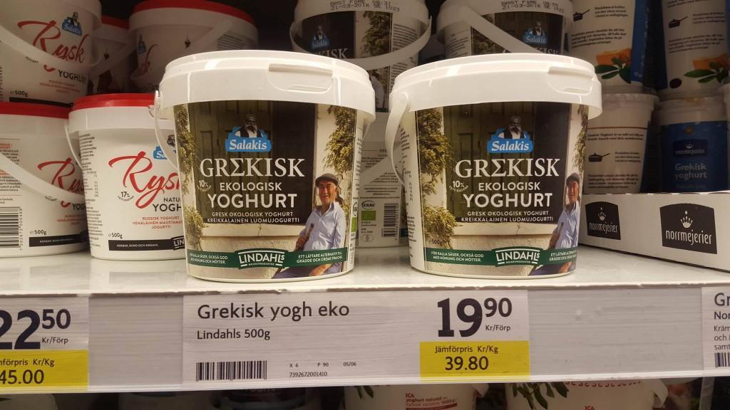 Grek yoghurt